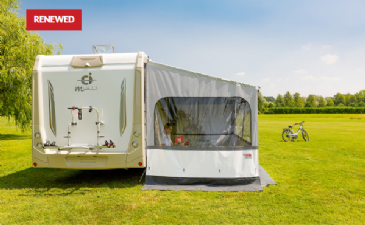 Fiamma Side W Pro Panel for Caravanstore XL Awning Caravan Privacy - Renewed Version